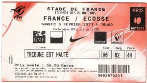 France v Scotland, Stade de France